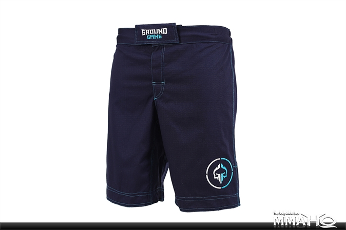 Ground Game Athletic Ripstop Shorts - Navy